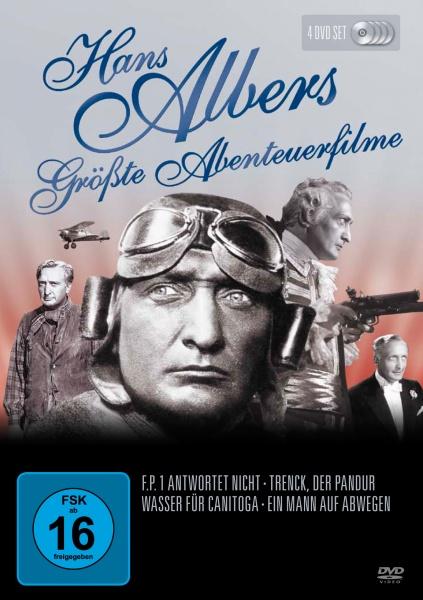 Hans Albers - Größte Abenteuerfilme (4 DVDs)