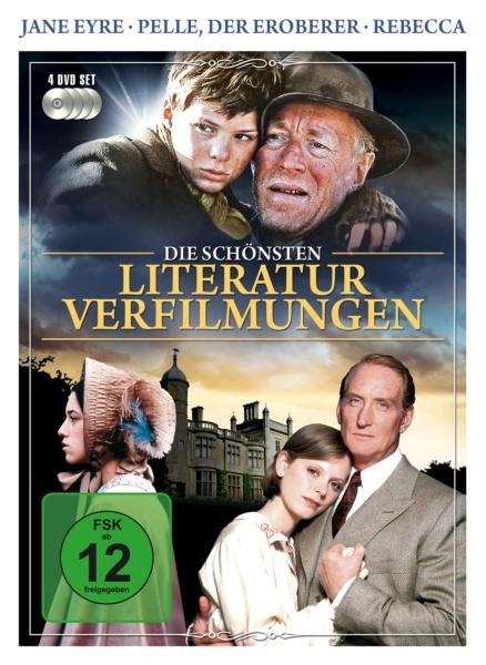 Die schönsten Literaturverfilmungen (4 DVDs)