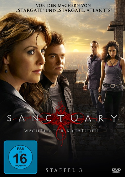 Sanctuary - Wächter der Kreaturen, Staffel 3 (6 DVDs)