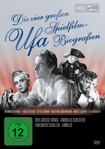 Die vier großen UFA Spielfilm-Biografien (4 DVDs)
