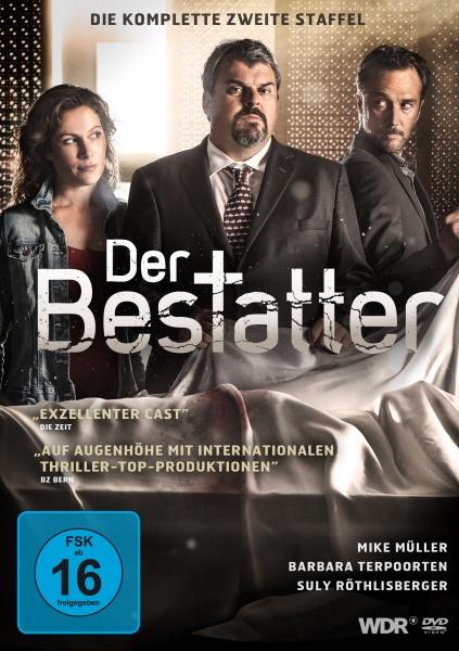 Der Bestatter - Die komplette 2. Staffel (2 DVDs)