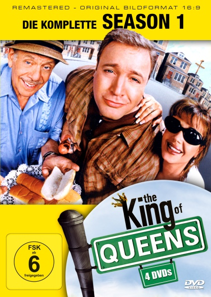 The King of Queens Staffel 1 (16:9) (4 DVDs)
