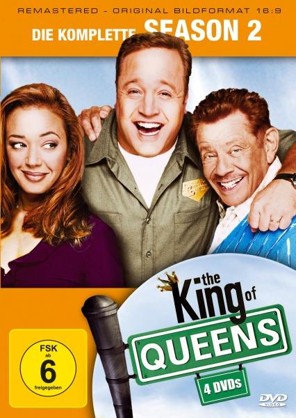 The King of Queens Staffel 2 (16:9) (4 DVDs)