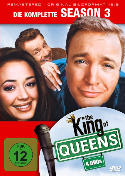 The King of Queens Staffel 3 (16:9) (4 DVDs)