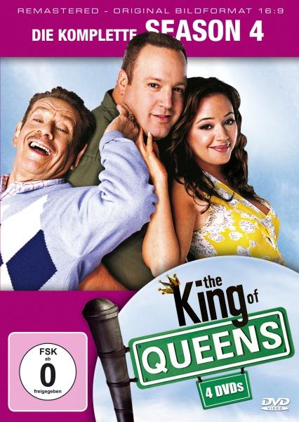 The King of Queens Staffel 4 (16:9) (4 DVDs)