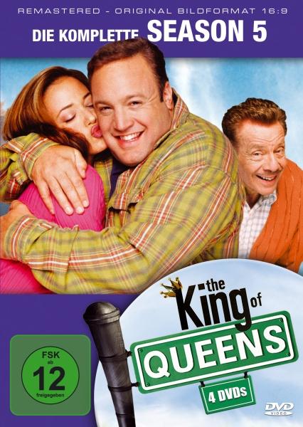 The King of Queens Staffel 5 (16:9) (4 DVDs)