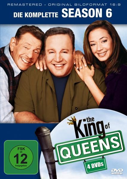 The King of Queens Staffel 6 (16:9) (4 DVDs)
