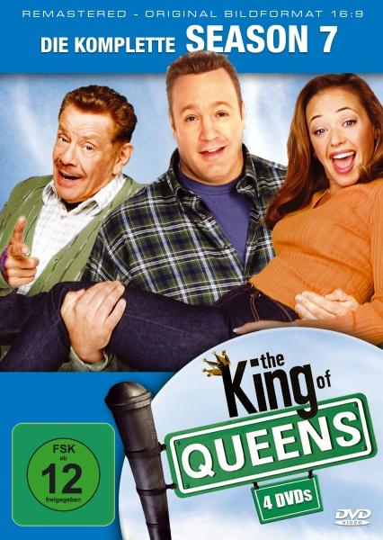 The King of Queens Staffel 7 (16:9) (4 DVDs)