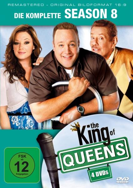 The King of Queens Staffel 8 (16:9) (4 DVDs)