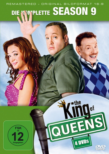 The King of Queens Staffel 9 (16:9) (3 DVDs)