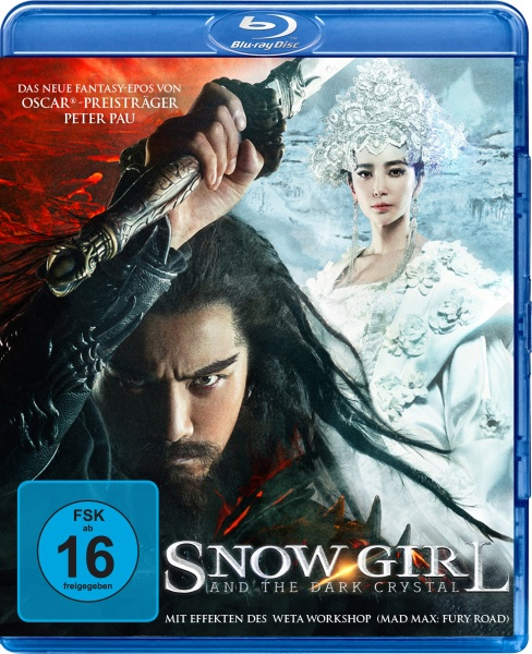 Snow Girl and the Dark Crystal (Blu-ray)