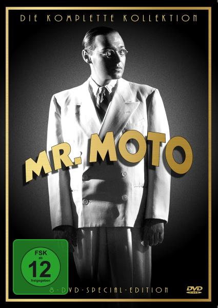 Mr. Moto - Die komplette Sammlung (8 DVDs)