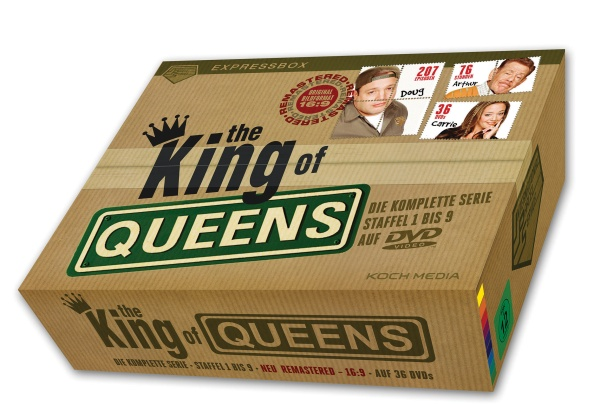 The King of Queens - Die komplette Serie - IPS-Box (36 DVDs)