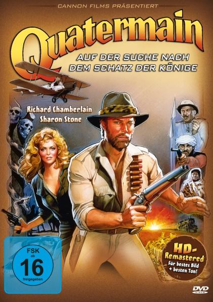 Quatermain - Auf der Suche nach dem Schatz der Könige (DVD)