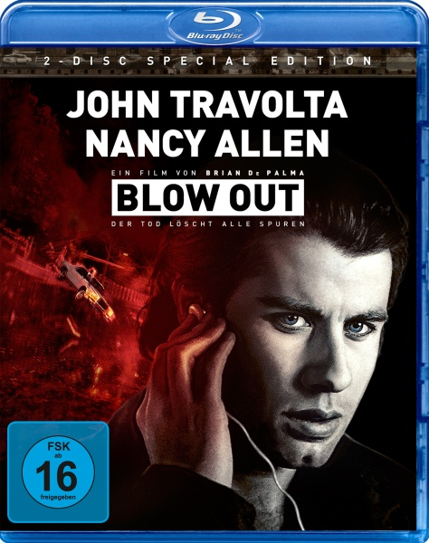 Blow Out - Der Tod löscht alle Spuren (Blu-ray+DVD)