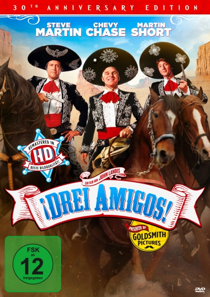 Drei Amigos - 30th Anniversary Edition (DVD)