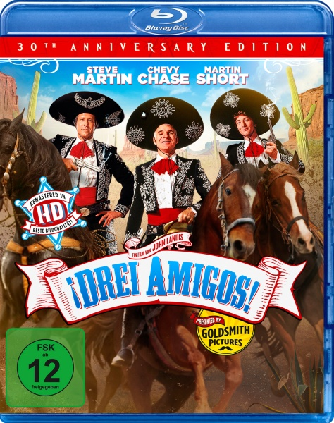 Drei Amigos - 30th Anniversary Edition (Blu-ray)