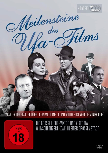 Meilensteine des UFA Films (4 DVDs)