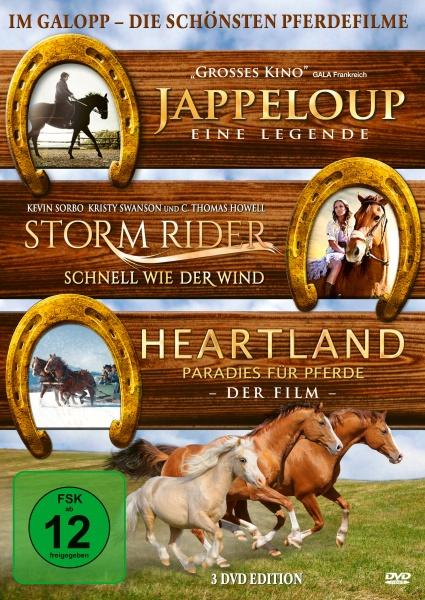 Im Galopp - Die schönsten Pferdefilme (3 DVDs)