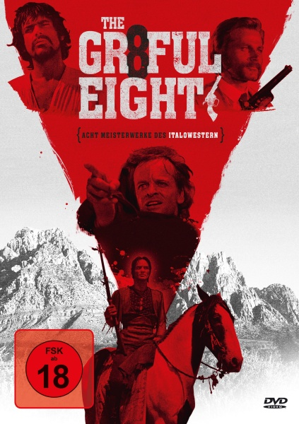 Grateful Eight - Acht Meisterwerke des Italowestern (8 DVDs)