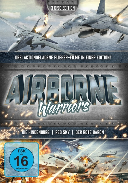 Airborne Warriors - Helden der Lüfte (3 DVDs)
