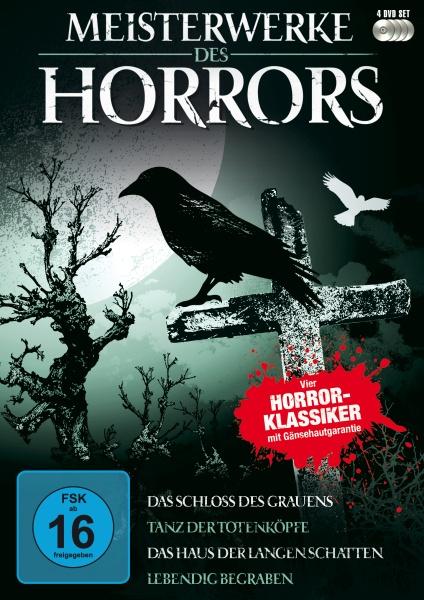 Meisterwerke des Horrors (4 DVDs)