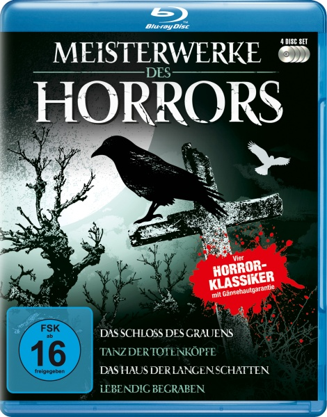 Meisterwerke des Horrors (4 Blu-rays)