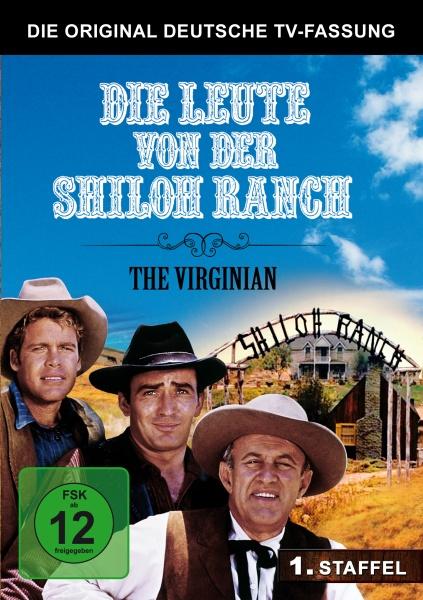 Die Leute von der Shiloh Ranch - Staffel 1 - Deutsche TV-Fassung (5 DVDs)