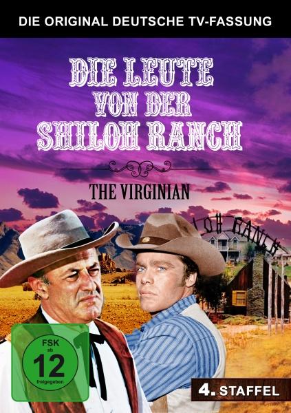 Die Leute von der Shiloh Ranch - Staffel 4 - Deutsche TV-Fassung (5 DVDs)