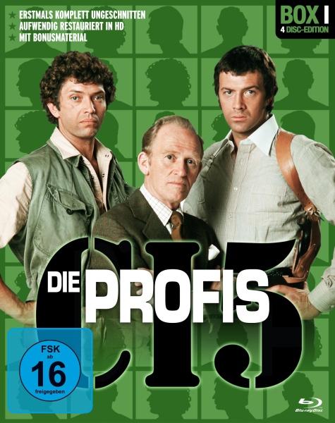 Die Profis - Box 1 (4 Blu-rays)