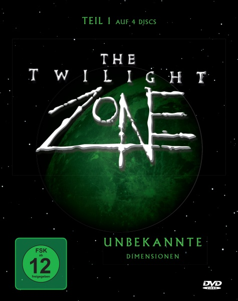 The Twilight Zone - Unbekannte Dimensionen - Teil 1 (4 DVDs)