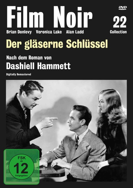 Film Noir Collection #22: Der gläserne Schlüssel (DVD)