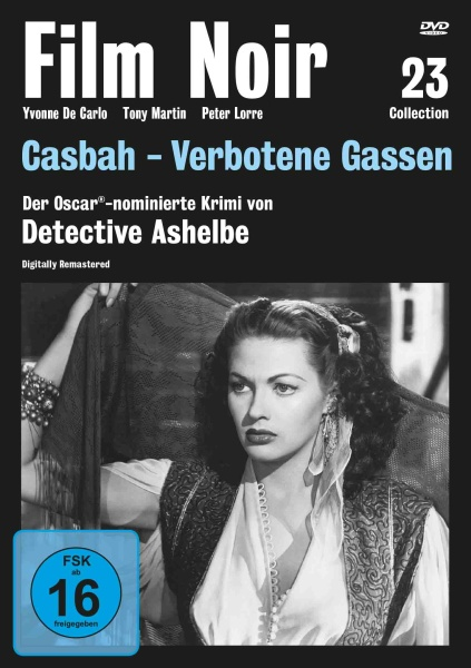 Film Noir Collection #23: Casbah - Verbotene Gassen (DVD)