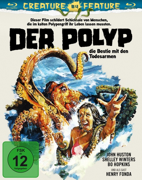 Der Polyp - Die Bestie mit den Todesarmen (Creature Feature Collection #4) (Blu-ray)
