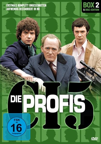 Die Profis - Box 2 (5 DVDs)