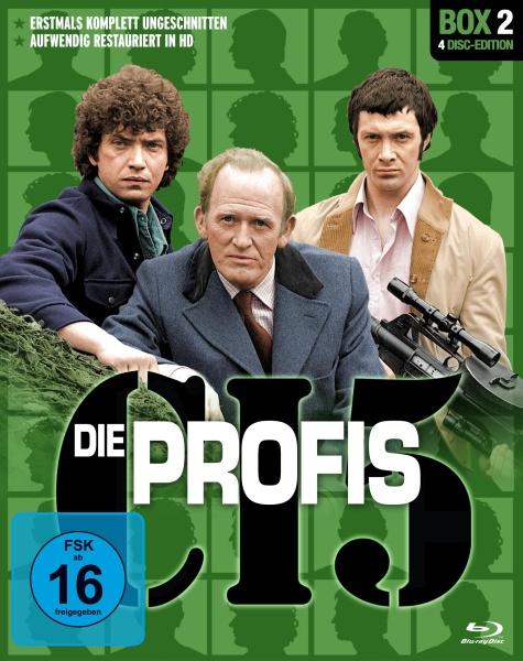 Die Profis - Box 2 (4 Blu-rays)