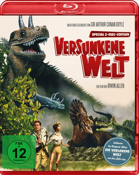 Versunkene Welt - The Lost World (1 Blu-ray und 1 DVD)