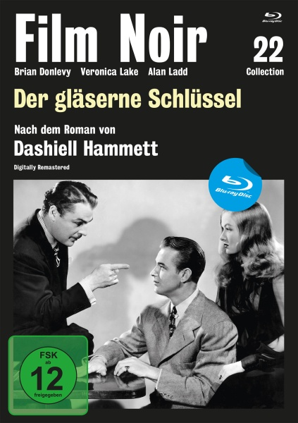 Film Noir Collection #22: Der gläserne Schlüssel (Blu-ray)