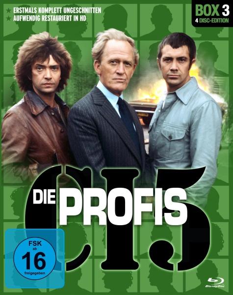 Die Profis - Box 3 (4 Blu-rays)