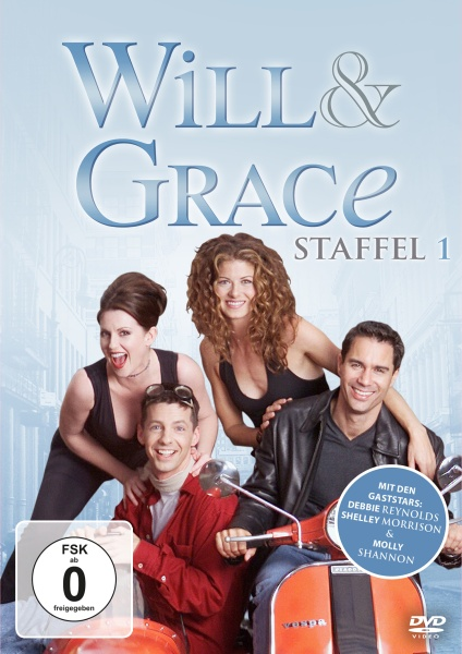 Will & Grace - Staffel 1 (4 DVDs)