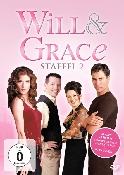 Will & Grace - Staffel 2 (4 DVDs)