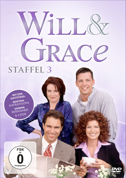 Will & Grace - Staffel 3 (4 DVDs)