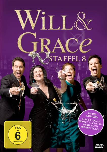 Will & Grace - Staffel 8 (4 DVDs)
