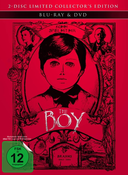 The Boy - Mediabook (1 Blu-ray und 1 DVD)