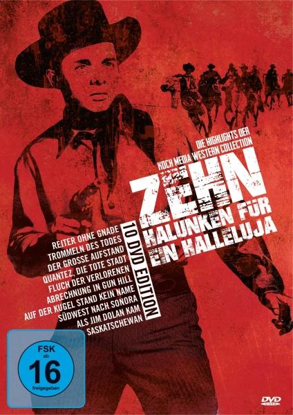 Zehn Halunken für ein Halleluja - Die Besten aus dem Westen (10 DVDs)