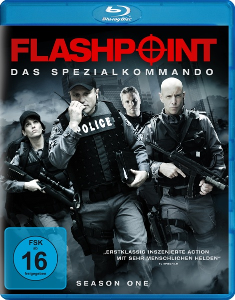 Flashpoint - Das Spezialkommando, Staffel 1 (3 Blu-rays)