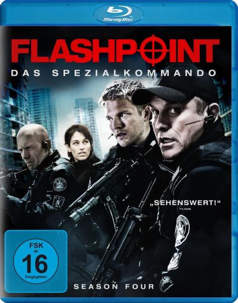 Flashpoint - Das Spezialkommando, Staffel 4 (3 Blu-rays)