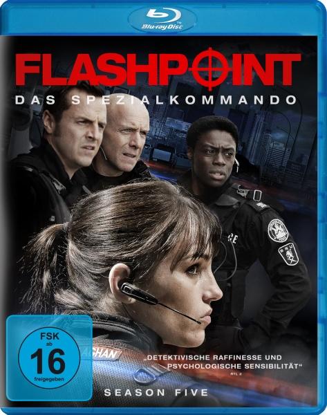 Flashpoint - Das Spezialkommando, Staffel 5 (2 Blu-rays)