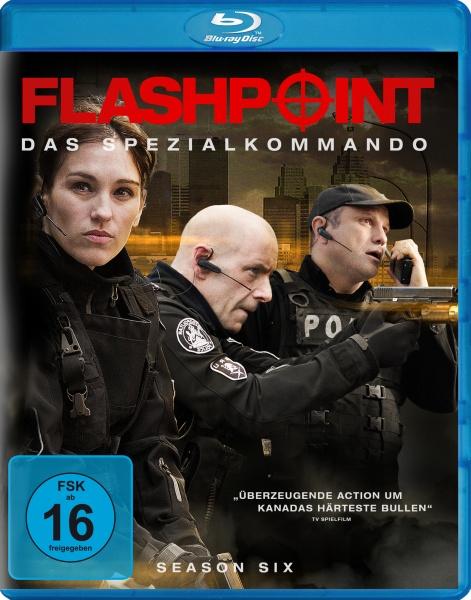 Flashpoint - Das Spezialkommando, Staffel 6 (2 Blu-rays)