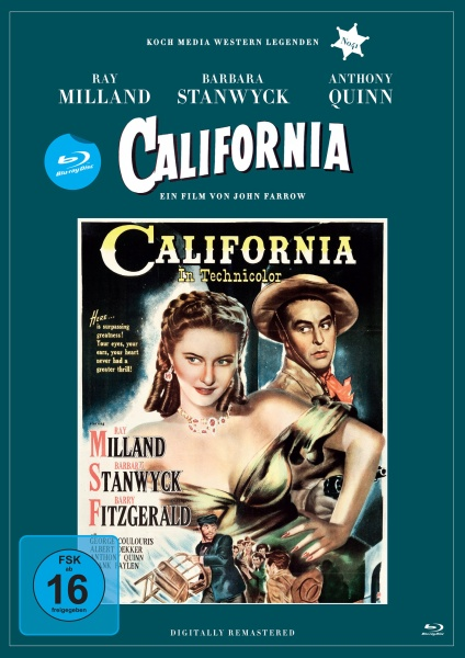 California (Edition Western-Legenden #41) (Blu-ray)